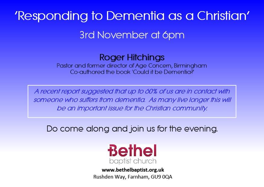 Dementia Evening