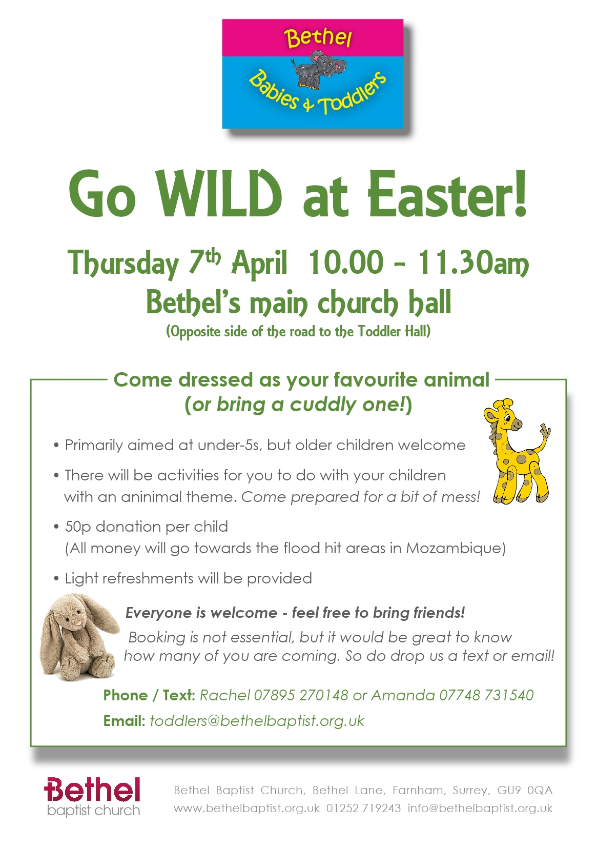 Easter activity Flyer